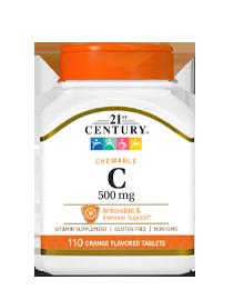 Vitamin C 500 mg Orange