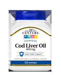 Norwegian Cod Liver Oil  400 mg