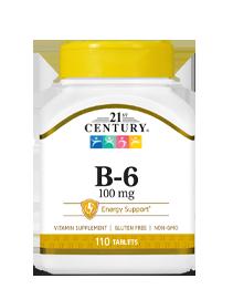 Vitamin B-6 100 mg