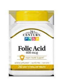 Folic Acid 400 mcg