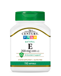 Natural Vitamin E 268 mg