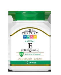Natural Vitamin E 268 mg