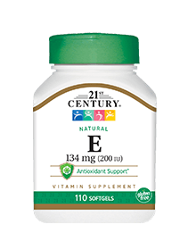 Natural Vitamin E 134 mg