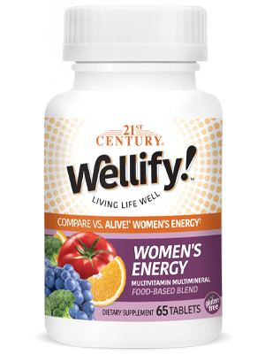 Wellify Womens Energy by 21st Century HealthCare, Inc., view from the front.