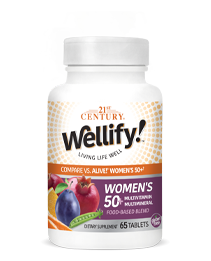 Wellify Womens 50+ by 21st Century HealthCare, Inc., view from the front.