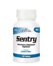 Sentry Men by 21st Century HealthCare, Inc., view from the front.