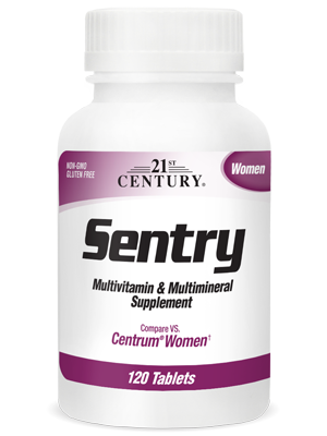 Sentry Women by 21st Century HealthCare, Inc., view from the front.