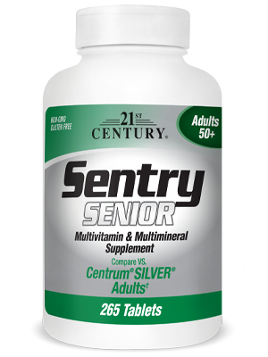 Sentry Senior by 21st Century HealthCare, Inc., view from the front.