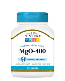 MgO-400 by 21st Century HealthCare, Inc., view from the front.