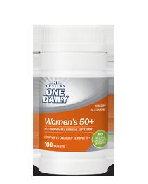 One Daily™ Women's 50+