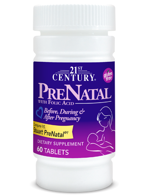 PreNatal by 21st Century HealthCare, Inc., view from the front.