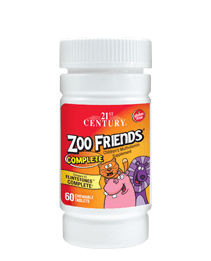 Zoo Friends® Complete Chewable