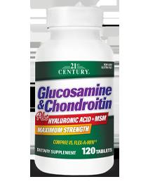 Glucosamine & Chondroitin Plus Hyaluronic Acid + MSM
