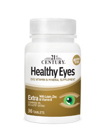 Healthy Eyes Extra by 21st Century HealthCare, Inc., view from the front.