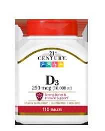 Vitamin D3 250 mcg