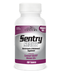 Sentry Senior Womens 50+ by 21st Century HealthCare, Inc., view from the front.