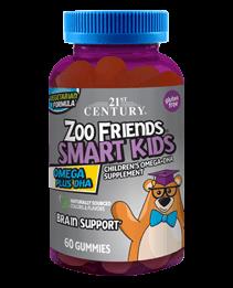 Zoo Friends® Smart Kids Omega Plus DHA