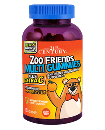 Zoo Friends® Multi Gummies Plus Extra C