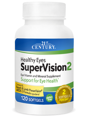 Healthy Eyes Supervision 2 by 21st Century HealthCare, Inc., view from the front.