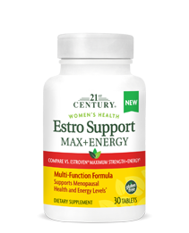 Estro Support Max + Energy by 21st Century HealthCare, Inc., view from the front.