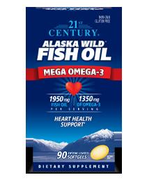 Alaska Wild® Fish Oil Mega Omega-3