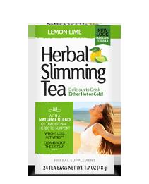 Herbal Slimming Tea - Lemon-Lime Tea Bags