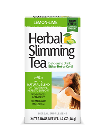 Herbal Slimming Tea - Lemon-Lime Tea Bags