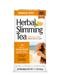 Herbal Slimming Tea - Orange Spice Tea Bags