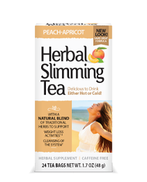 Herbal Slimming Tea - Peach-Apricot Tea Bags