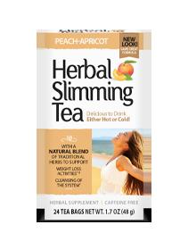Herbal Slimming Tea Peach-Apricot