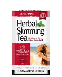 Herbal Slimming Tea - Peppermint Tea Bags