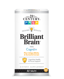Brilliant Brain by 21st Century HealthCare, Inc., view from the front.