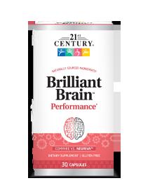 Brilliant Brain™ Performance*
